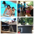 Summertime at BnF! swimming, camp at the park, work projects!