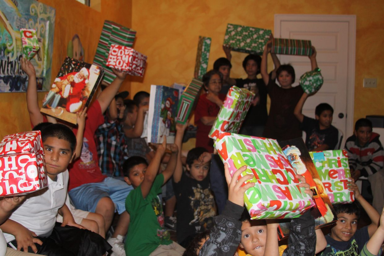 Christmas Bless a Child! Donate toward a gift for a child in the BnF Community.